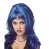 Wig Hard Rockin Witch Blk Blue